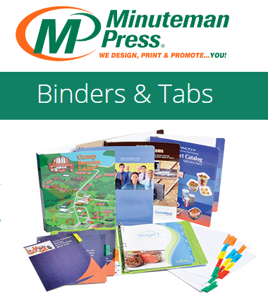 Binders & Tabs https://www.puyallup.minutemanpress.com/products-services/binders-tabs.html