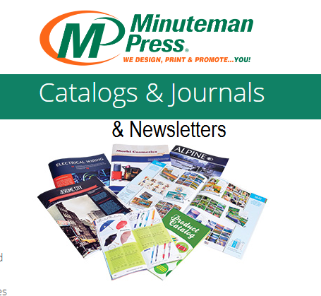 Journals, Catalogues, & Newsletters - for Business, Non-Profits, and Organizations. https://www.puyallup.minutemanpress.com/products-services/catalogs-journals.html