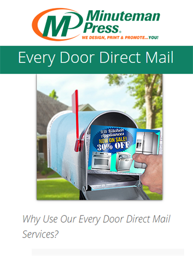 USPS Every Door Direct Mail (EDDM) at special rats...integrate with social media marketing for 4x impact! https://www.puyallup.minutemanpress.com/products-services/every-door-direct-mail.html