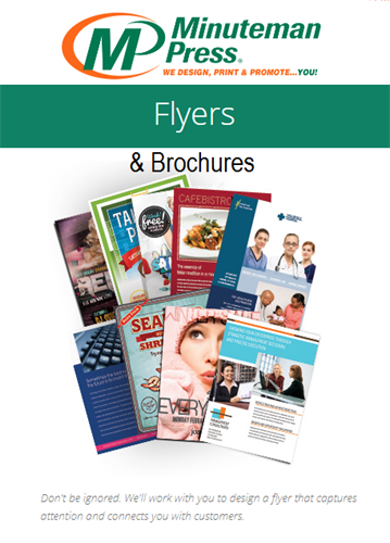 Fall and Back to School Flyers, Brochures - We print for all Seasons and Seasonal Promotions!