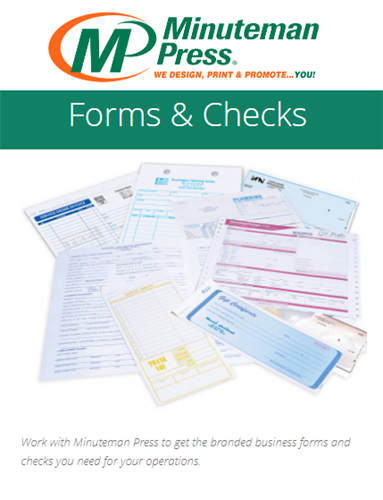 Conventional Forms, Letterhead, Invoicing, Medical & Health Care Forms are still used see us for that next high volume run!
