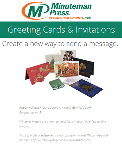 Personalized Greeting Cards are proven to have a 100% open rate, get back to the future with us!