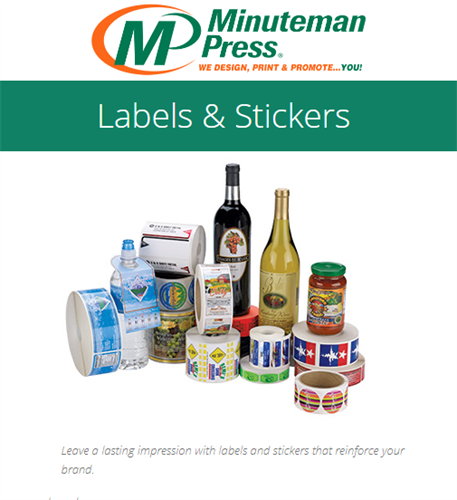 Branding that stays stuck! https://www.puyallup.minutemanpress.com/products-services/labels-stickers.html