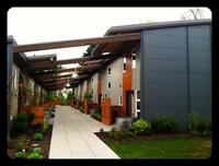 Visiting projects today- SIP built Puyallup Tribal Housing Authority multi family housing in Tacoma WA. Beautiful building