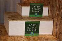 Premier SIPs are rigorously tested to meet and exceed building code standards and energy effciency requirements, helping them achieve some of the highest insulation/R-values (and load capacities) in the SIPs industry
