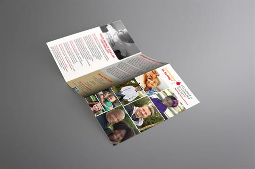 General brochure created for The Leukemia & Lymphoma Society.