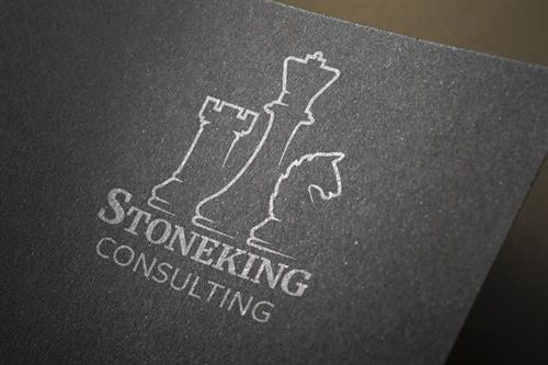 Logo and brand created for Stoneking Conculting.