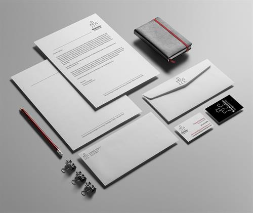 Branding/stationary set created for Stoneking Consulting.