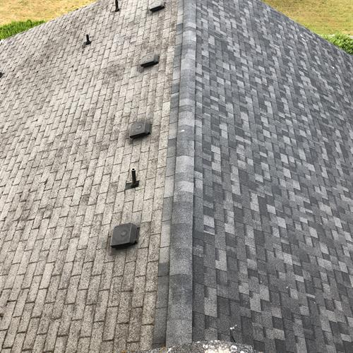 Half of a New Roof