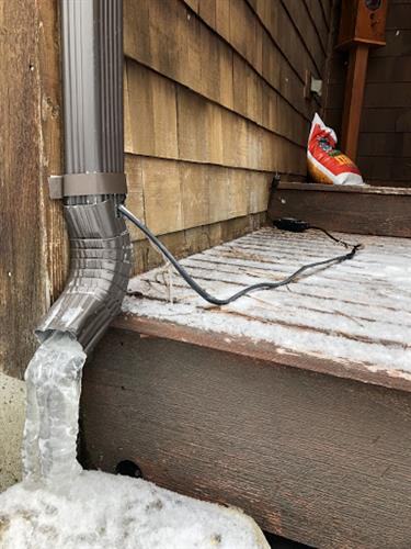 Downspout Discharge