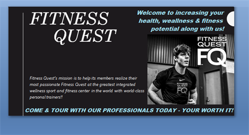 YOUR WORTH IT! Come tour our facility and get a vision of increasing your health & wellness potential with us.