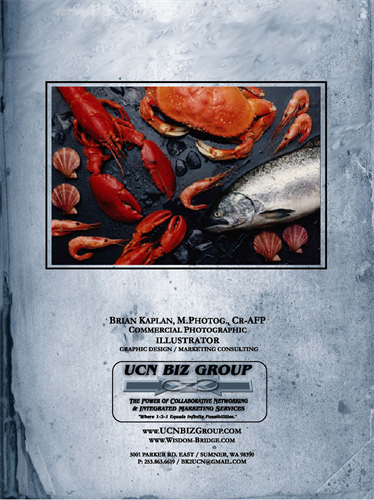Food Photography /  Pier 66 / Seattle / Commercial Photographic Illustrator ( 35 yrs of Exp.)