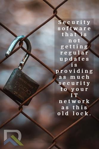 Security Software needs frequent updates