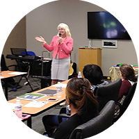 Christine Rose, ACC is a Toastmaster and experienced speaker for business or professional events.