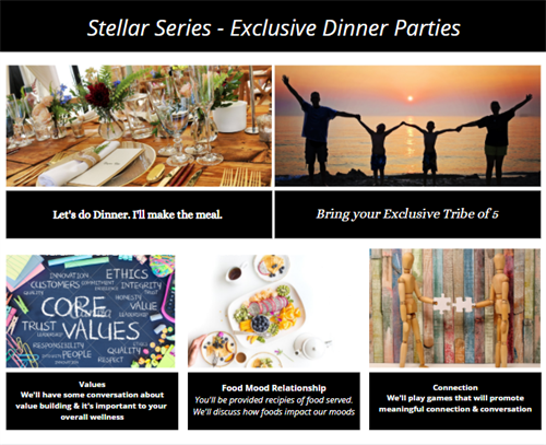 Exclusive Dinner Experiences: Book yours today