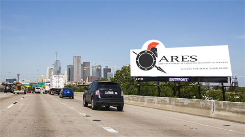 Have you seen this billboard for ARES Restoration around Puyallup?
