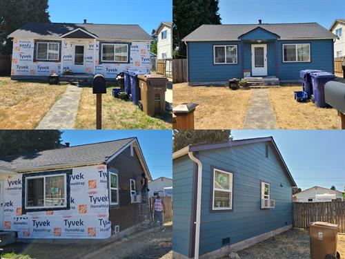 Siding and window replacement in Tacoma