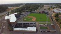 Cheney Stadium helicopter view