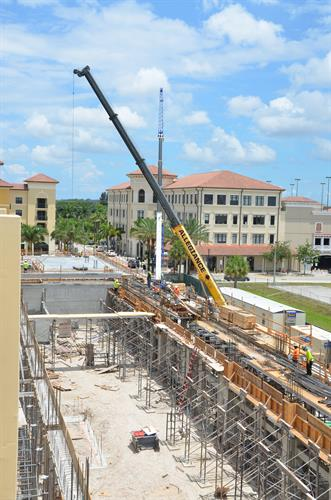 Construction of Miramar Police Headquarter