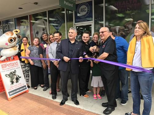 Petland Pembroke Pines Ribbon Cutting Ceremony