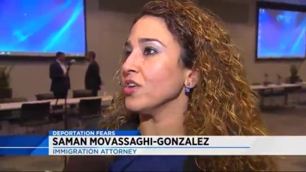Fearless fighter for immigrants legal and human rights.