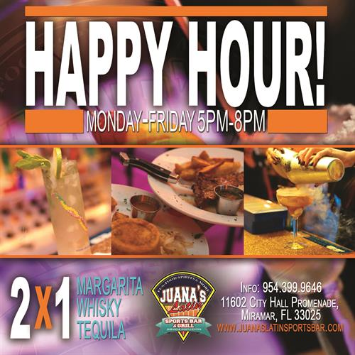 Happy Hour At Juana's