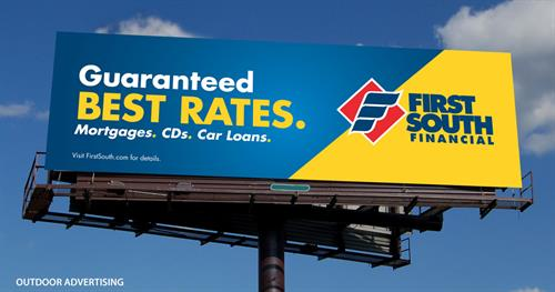 First South Guaranteed Best Rates Campaign