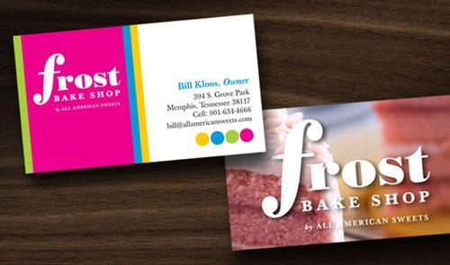 Frost Bake Shop Branding