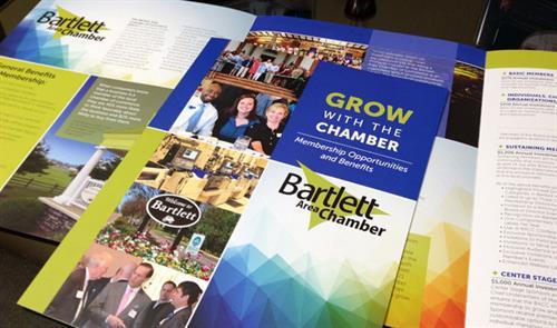 Bartlett Area Chamber of Commerce Membership Brochure