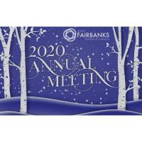 Fairbanks Chamber Annual Awards & Membership Meeting