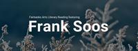 Fairbanks Arts Literary Reading featuring Frank Soos
