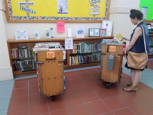 FoVL Lobby Book Sale - EVERYDAY! - $1.00/book
