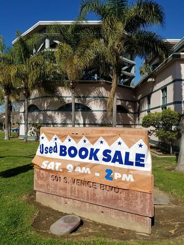 FoVL Book Sales every few months