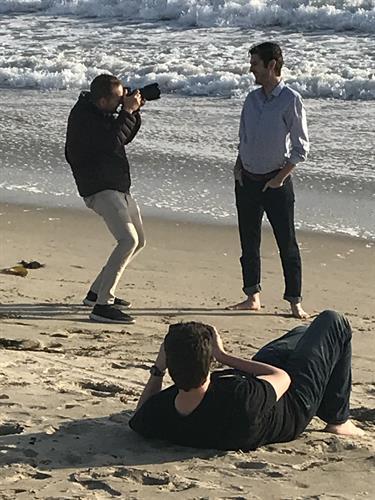 Taylor, Sam Diephuis photographer and Grant Turck