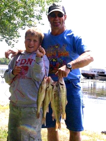 Teaching another generation to fish...priceless