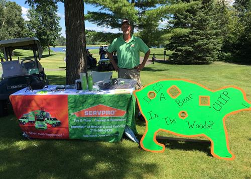 Sponsoring a Golf Hole for our local MMBA organization and Scholarship Fundraiser.