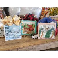Holiday Glass Block Project - Wisconsin Dells Craft & Antique Mall