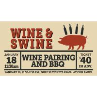Wine & Swine  at Con Amici