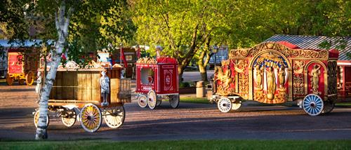 Circus World is home to the largest collection of antique, wood-carved, beautifully restored circus wagons on earth.