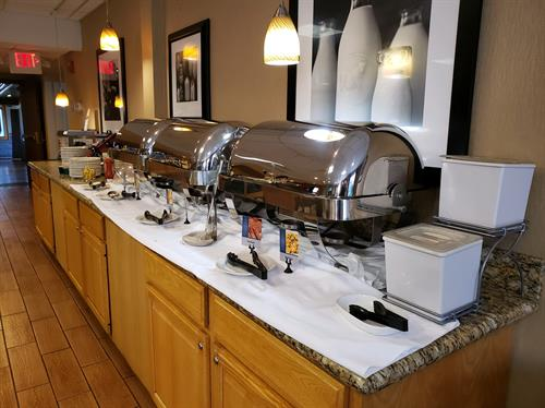 Free hot continental breakfast every day to start your morning off right!