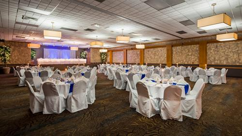 Diamond Ballroom - for groups up to 400 people.