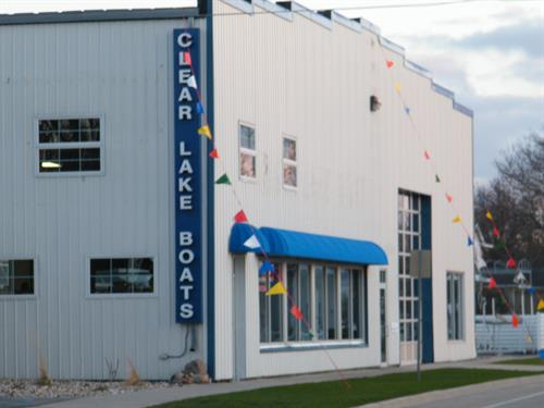 Clear Lake Boats Showroom - 1604 South Shore Drive - Clear Lake, IA 50428