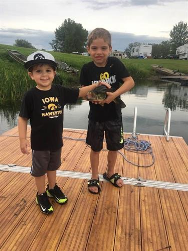 Our Catch and Release fishing ponds are exclusive to only HLC seasonal campers.