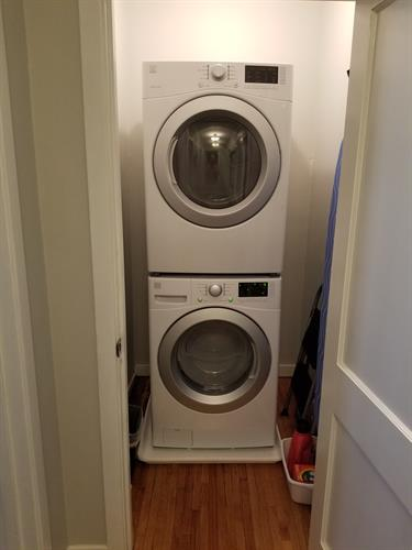 Main floor washer/dryer