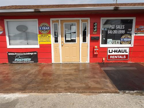 P&T Sales Front After Re-Do-It Surface Repair