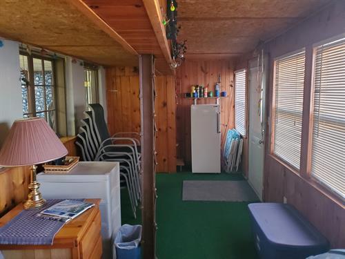 Enclosed Sunroom