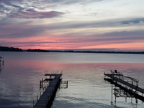 Evening Sunset from Upper Deck