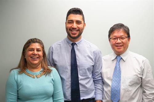 Dr. Surdhar, Dr. Liaghat and Dr. Lui