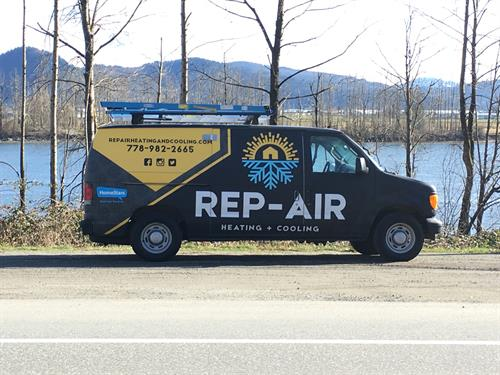 Rep-Air Heating And Cooling Service Van