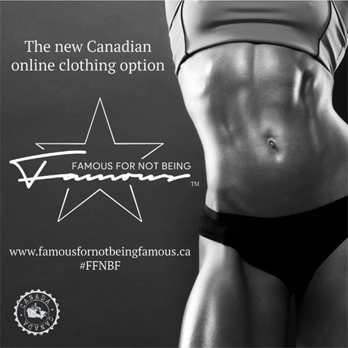 The new #Canadian online clothing option Coming soon... Follow us on social media! #canadianowned #onlineshopping #staytuned #fashion #shoplocal #famousfornotbeingfamous